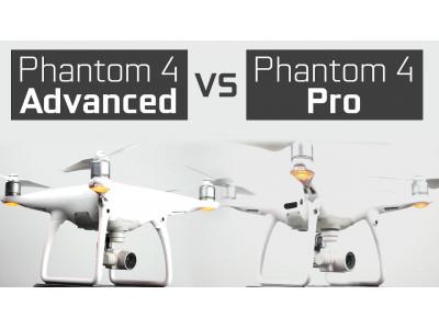 Phantom 4 Advanced vs Phantom 4 Pro - в чем отличие?